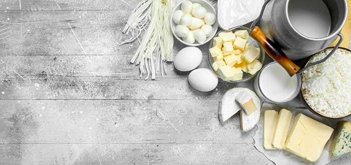 Lácteos, huevos y derivados
