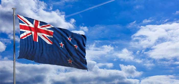 Bandera de Nueva Zelanda.