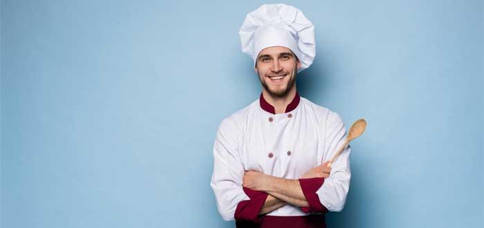 Chef hombre.