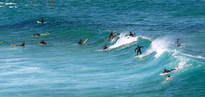 surf en Sydney Australia