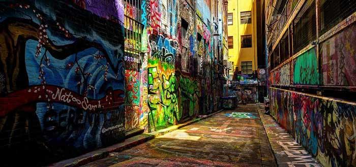 Graffitis de Melbourne