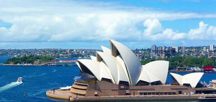 Opera House de Sydney, uno de los monumentos australianos más deslumbrantes