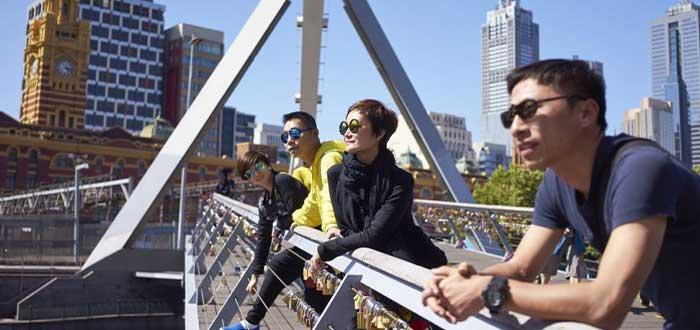 Inglés y chino, Las lenguas más habladas en Australia