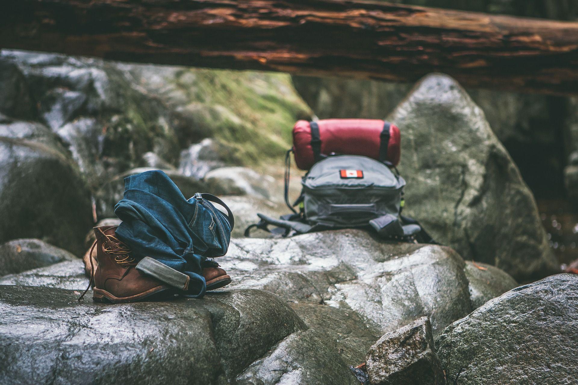 mochila equipaje para canada viaje