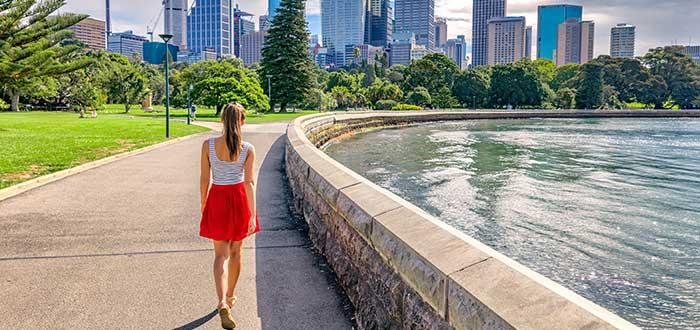 Seguridad en calles de Australia