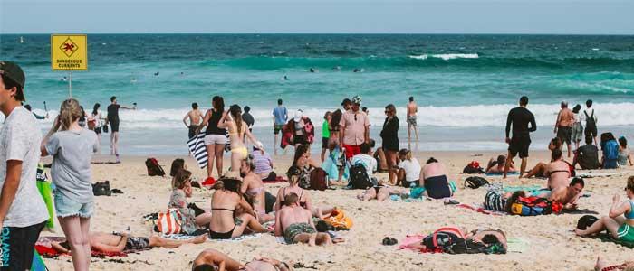 Las mejores playas de Australia: Bondi Beach