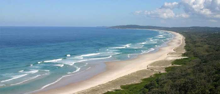 Las mejores playas de Australia, Tallows Beach