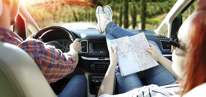 rutas para ir en auto