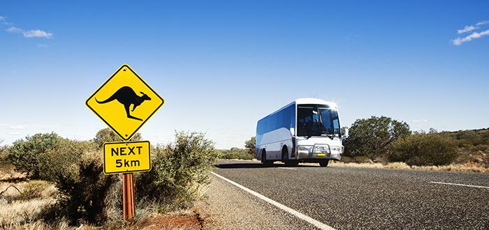 Viajar por Australie en bus