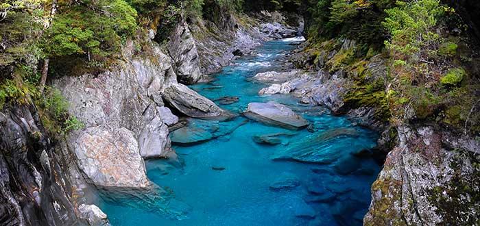 Que ver en Nueva Zelanda, Blue Pools Track