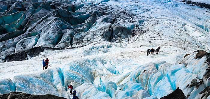 Que ver en Nueva Zelanda, Glaciar Franz Josef