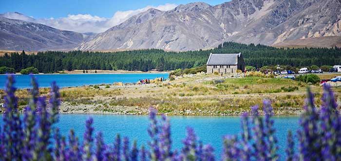 Tekapo, en Nueva Zelanda