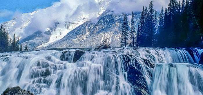 Parque Nacional Yoho 7 Wapta Falls