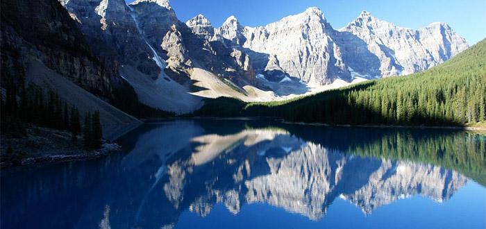 que-ver-en-canada-lago-espejo