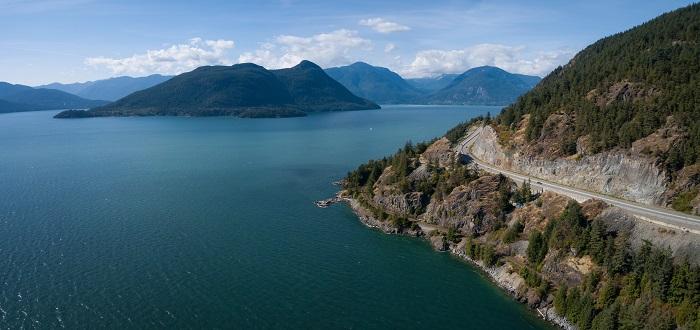 Que ver en Vancouver - Sea to Sky highway