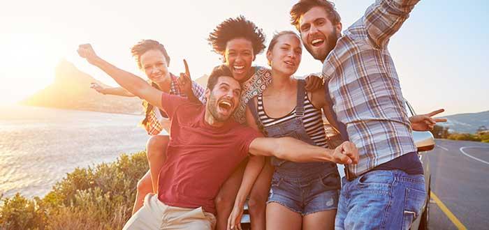 Aprender ingles viajando, Haz grupos internacionales
