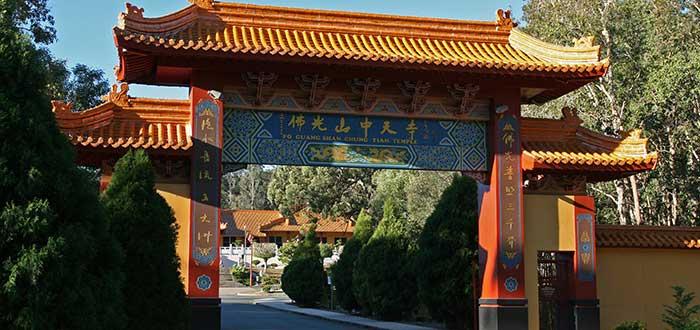Qué ver en Brisbane, El templo budista Fo Guang Shan Chung Tian