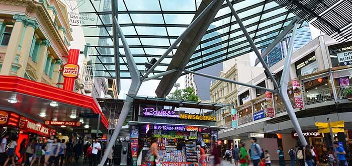 Qué ver en Brisbane, La City y sus Malls