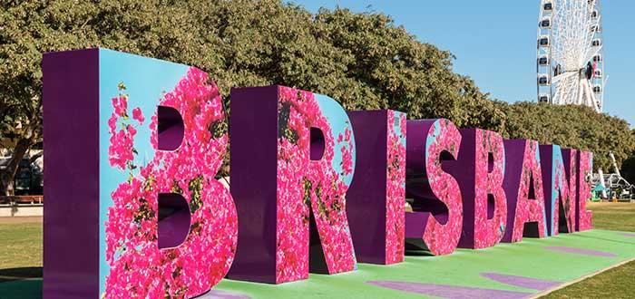 Qué ver en Brisbane, Las letras de Brisbane