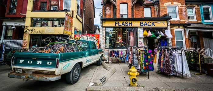 Kensington Market, el barrio más hipster de Toronto.
