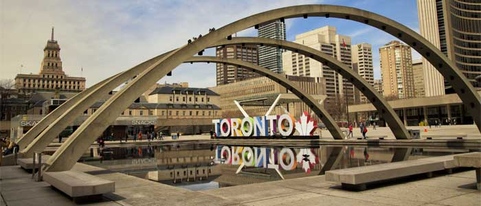 Nathan Philips Square.
