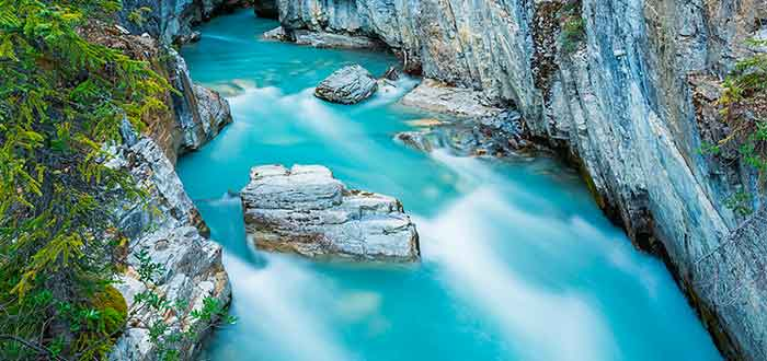 Parque Nacional Kootenay/marble-canyon