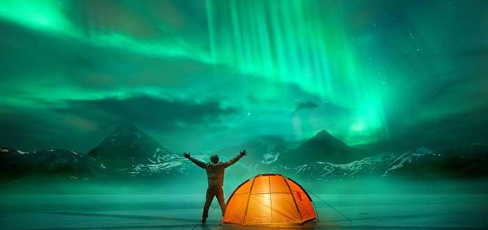 Aurora Boreal en Nunavut