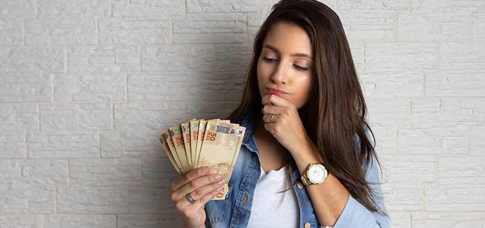 Separa el dinero cuando viajes