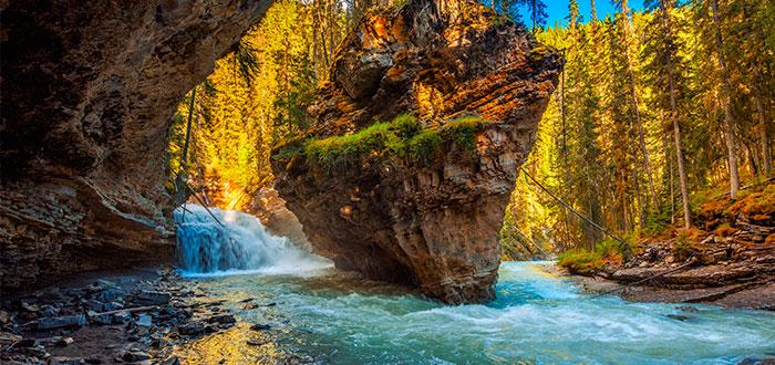 parque-nacional-banff-canyon-johnston