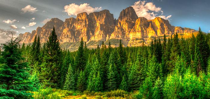parque-nacional-banff-castle-mountain