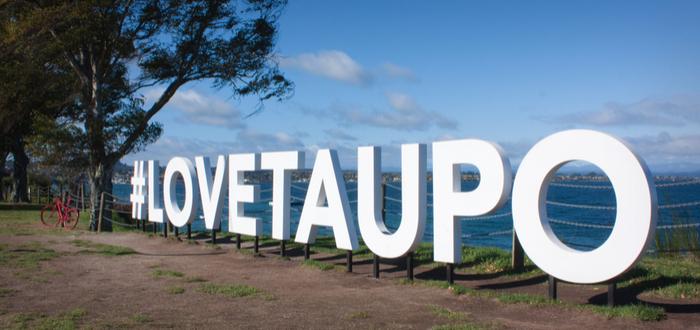 Lago Taupo - Nueva Zelanda