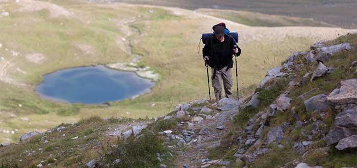 Caminata por los Alpes del Sur