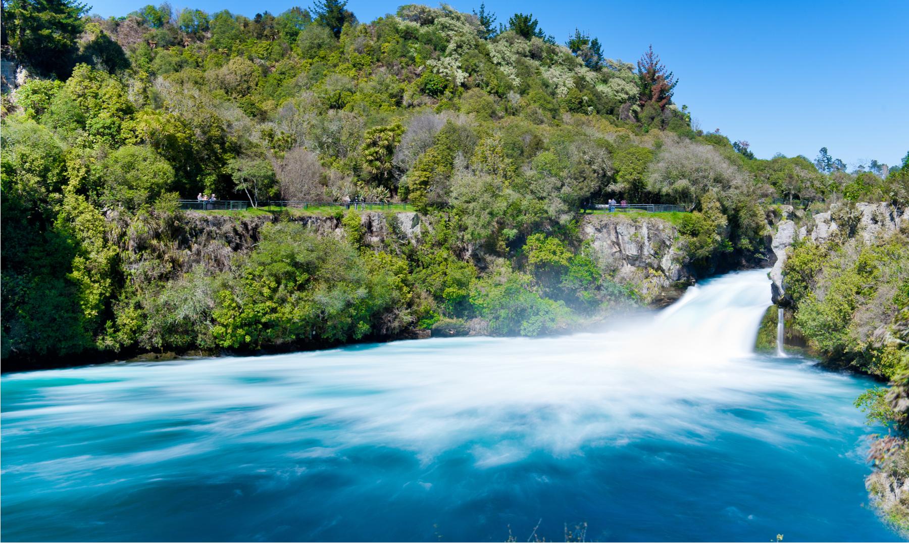 Huka Falls | Un espectáculo natural que tienes que ver