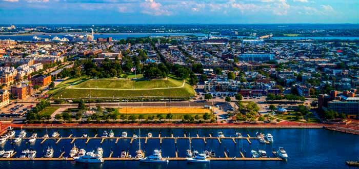 Que ver en Baltimore Parque Federal Hill