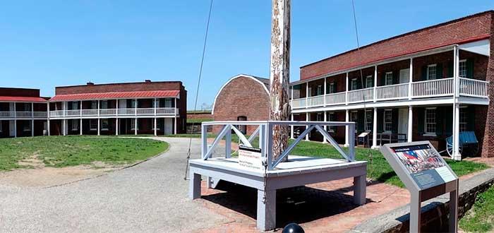 Que ver en Baltimore Fuerte Mchenry