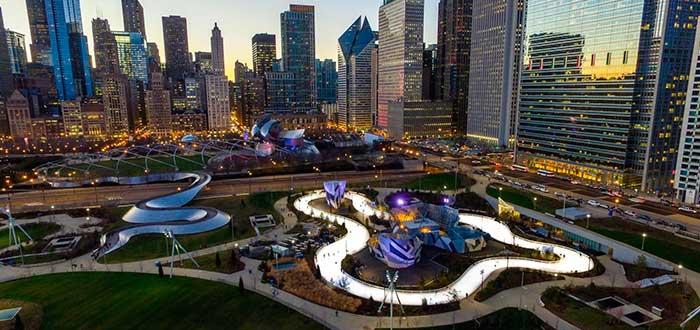 Qué ver en Chicago Parque Maggie Daley