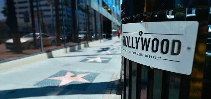 Que ver en Los Angeles Paseo de la Fama de Hollywood