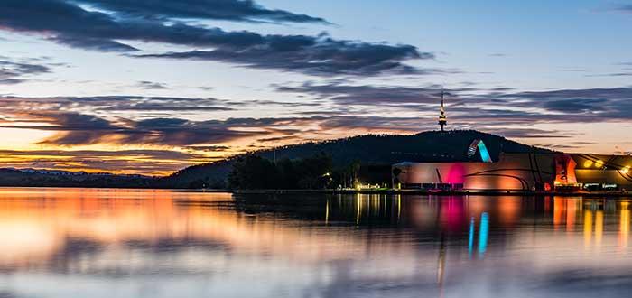 Que ver en Canberra Lago Burley Griffin