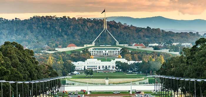Que ver en Canberra Casa del Parlamento