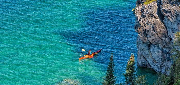 Parque Nacional Bruce Peninsula Kayak