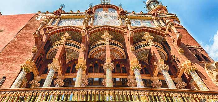 Que ver en Barcelona Palacio de la musica catalana
