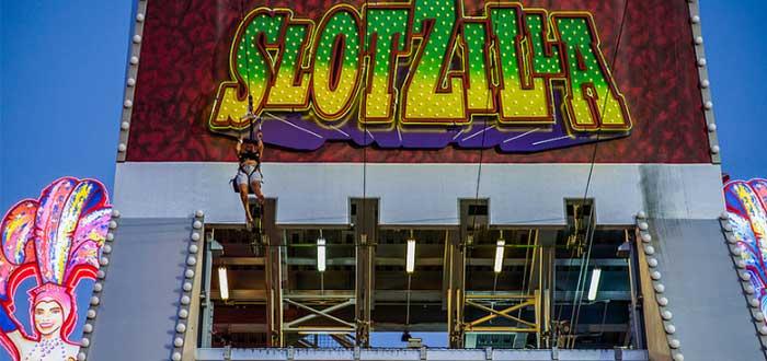Slotzilla Zip Line