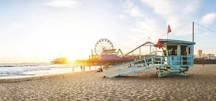 Que ver en Los Angeles Muelle de Santa Monica