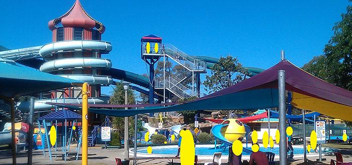 Qué ver en Canberra | Big Splash Waterpark