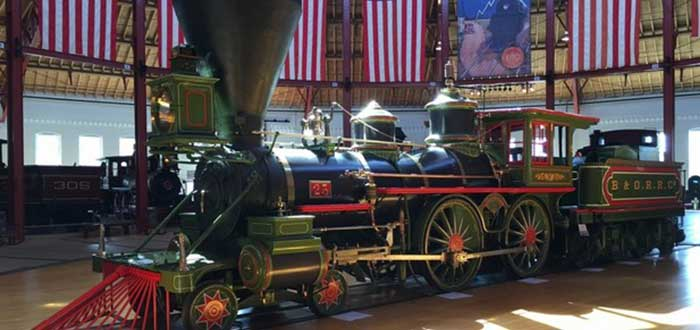 Que ver en Baltimore B & O Railroad museum