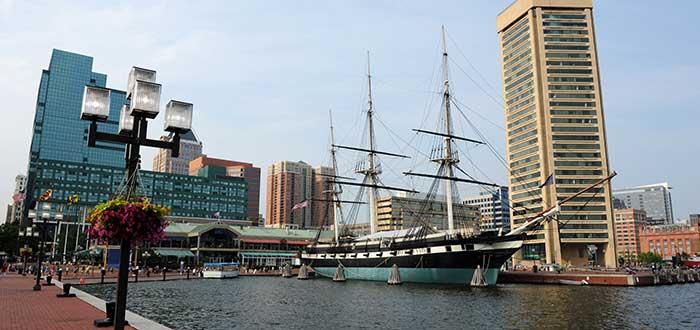Que ver en Baltimore Uss Costellation