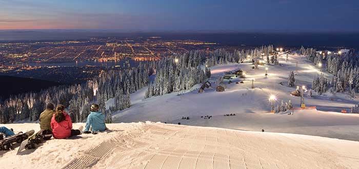 Esquiar en Vancouver