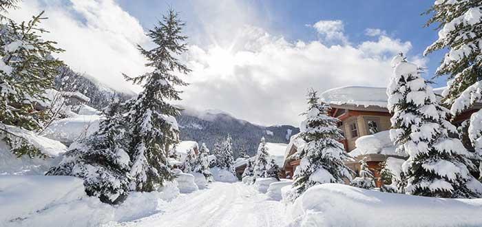 Esquiar en Whistler