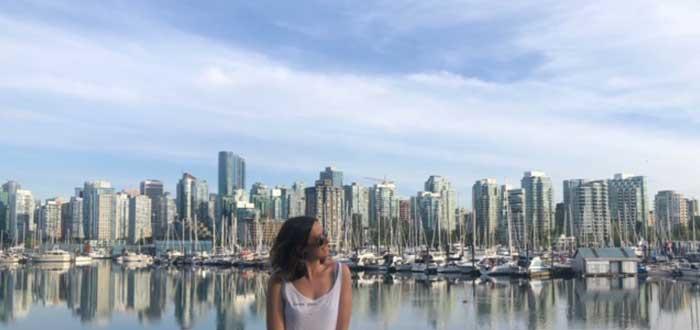 Llegada a la ciudad de Vancouver