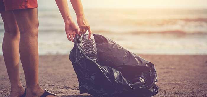 Reducción y recogida de plástico